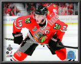 Jonathan Toews Game One of the 2010 NHL Stanley Cup Finals Art