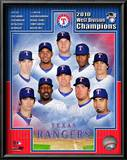 Texas Rangers 2010 American League West Division Champions Composite Poster