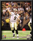 Drew Brees 2010 Action Posters