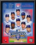 Texas Rangers 2010 American League Champions Composite Art