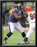 Michael Oher 2010 Action Prints
