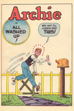 Archie Comics Retro: Archie Comic Panel All Washed Up (Aged) Poster by Bill Vigoda