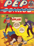 Archie Comics Retro: Pep Comic Book Cover 43 (Aged) Poster par Bob Montana