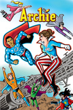 Archie Comics Cover: Archie #616 Barack Obama and Sarah Palin Campaign Pains Part 1 (Variant) Plakater af Dan Parent