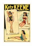 Archie Comics Retro: Katy Keene The Pin-Up Queen (Aged) Print by Bill Woggon