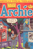 Archie Comics Retro: Archie Comic Book Cover No.17 (Aged) Posters by Al Fagaly