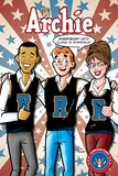 Archie Comics Cover: Archie 617 Barack Obama and Sarah Palin Campaign Pains Part 2 Poster by Dan Parent