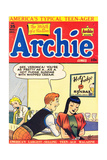 Archie Comics Retro: Archie Comic Book Cover 35 (Aged) Kunstdrucke von Bill Vigoda