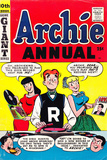 Archie Comics Retro: Archie Annual Comic Book Cover 10th Issue (Aged) Prints