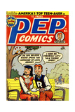 Archie Comics Retro: Pep Comic Book Cover 81 (Aged) Posters
