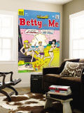 Archie Comics Retro: Betty and Me Comic Book Cover 17 (Aged) Wall Mural