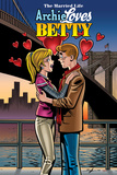 Archie Comics Cover: The Married Life Archie Loves Betty Posters by Norm Breyfogle
