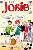 Archie Comics Retro: She&#39;s Josie Comic Book Cover 1 (Aged) Poster by Dan DeCarlo