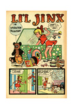 Archie Comics Retro: Li'l Jinx Comic Book Page Operation Dalmatian (Aged) Print by Joe Edwards