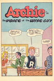 Archie Comics Retro: Archie Comic Panel The Voice of the Wise Guy (Aged) Posters