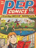 Archie Comics Retro: Pep Comic Book Cover 49 (Aged) Affiches par Harry Sahle