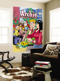 "Archie Comics Cover: Archie 602 Archie Marries Veronica: ""It's Twins."" Wall Mural by Stan Goldberg"