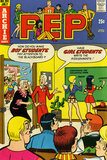 Archie Comics Retro: Pep Comic Book Cover 291 (Aged) Art