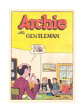 Archie Comics Retro: Archie Comic Panel Archie the Gentelman (Aged) Kunst von Bill Vigoda
