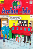 Archie Comics Retro: Archie and Me Comic Book Cover #9 (Aged) Pôsters por Dan DeCarlo