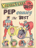 Archie Comics Retro: Pep comics Advertisement (Aged) Prints