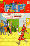 Archie Comics Retro: Pep Comic Book Cover No.248 (Aged) Prints