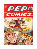 Archie Comics Retro: Pep Comic Book Cover No.47 (Aged) Print