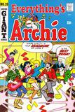 Archie Comics Retro: Everything's Archie Comic Book Cover No.20 (Aged) Plakát