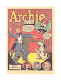Archie Comics Retro: Archie Comic Panel Archie the Magician  (Aged) Photo by Harry Sahle