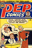 Archie Comics Retro: Pep Comic Book Cover No.82 (Aged) Prints by Bob Montana