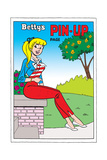 Archie Comics Pin-Up: Betty Prints