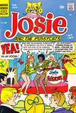 Archie Comics Retro: Josie and The Pussycats Comic Book Cover 46 (Aged) Prints by Dan DeCarlo