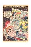 Archie Comics Retro: Archie Comic Panel What's Cooking in this Issue!!!  (Aged) Prints by Harry Sahle