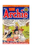Archie Comics Retro: Archie Comic Book Cover No.68 (Aged) Plakat
