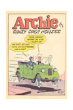 Archie Comics Retro: Archie Comic Panel Crazy Over Horses (Aged) Poster von Bill Vigoda