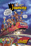 Archie Comics Cover: Jughead 204 Jughead Jones: Semi-Private Eye Pt 3 A Tan & Sandy Snooze! Art by Rex Lindsey
