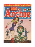 Archie Comics Retro: Archie Comic Book Cover 8 (Aged) Art by Harry Sahle