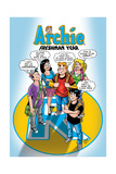 Archie Comics Cover: Archie 587 Freshman Year Posters by Bill Galvan