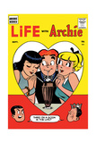 Archie Comics Retro: Life with Archie Comic Book Cover No.2 (Aged) Print by Harry Lucey