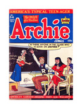 Archie Comics Retro: Archie Comic Book Cover No.34 (Aged) Poster by Al Fagaly