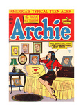 Archie Comics Retro: Archie Comic Book Cover No.23 (Aged) Print by Al Fagaly
