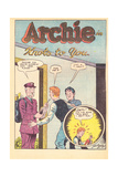 Archie Comics Retro: Archie Comic Panel Knots to You (Aged) Poster von Bill Vigoda