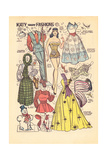 Archie Comics Retro: Katy Keene Snow Fashions (Aged) Poster von Bill Woggon