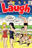 Archie Comics Retro: Laugh Comic Book Cover No.77 (Aged) Prints