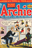 Archie Comics Retro: Archie Comic Book Cover No.20 (Aged) Print by Al Fagaly