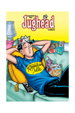 Archie Comics Cover: Jughead No.186 American Idle Art by Rex Lindsey