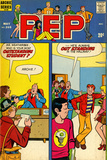 Archie Comics Retro: Pep Comic Book Cover No.265 (Aged) Prints
