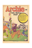 Archie Comics Retro: Archie Comic Panel The Patch Hop (Aged) Kunstdrucke von Bill Vigoda