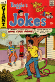 Archie Comics Retro: Reggie's Jokes Comic Book Cover No.7 (Aged) Prints