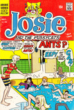 Archie Comics Retro: Josie and The Pussycats Comic Book Cover #45 (Aged) Poster por Dan DeCarlo